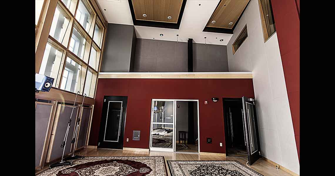 Shock City Studios - Live Room