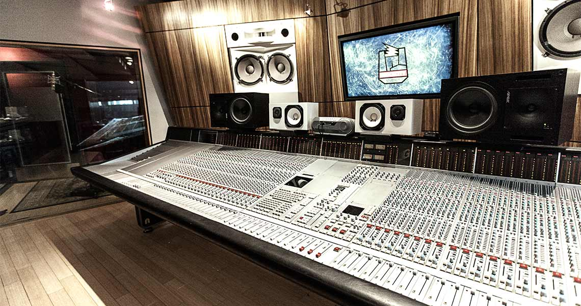 Shock City Studios Studio A Console