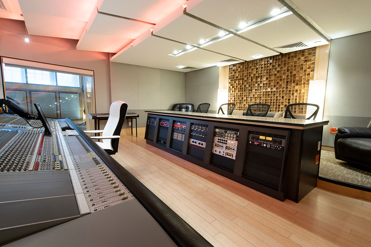 Shock City Studios Console Studio A