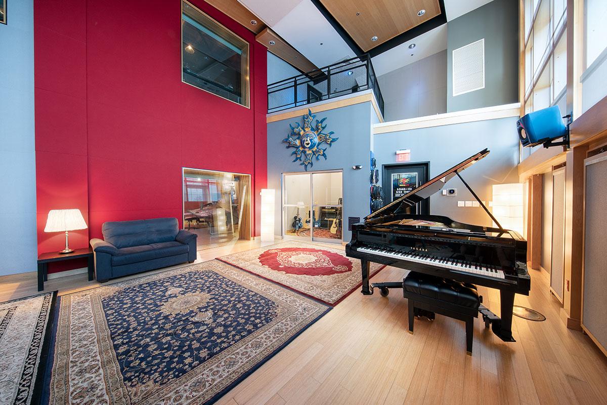 Shock City Studios 2019 Live Room
