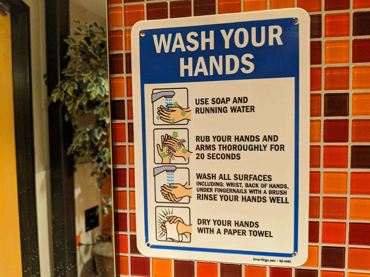 Shock City Studios Wash Your Hands